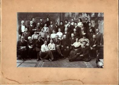Учасники вакаційних курсів 1904 року у Львові