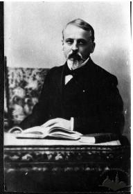 Henryk Sienkiewicz's portrait taken in 1900
