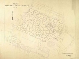 Plan of Lychakiv Cemetery