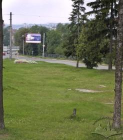 Вул. Личаківська. Місце колишнього пам'ятника