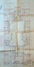 План партерного поверху за оригінальним проектом Яна Шульца