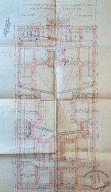 План пивниць за оригінальним проектом Яна Шульца
