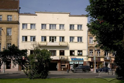 Prosp. Svobody, 5. The building's principal facade