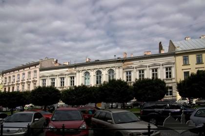 Prosp. Shevchenka, 13. The principal facade