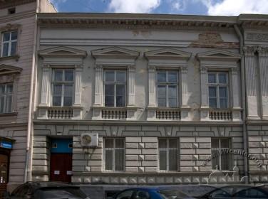Prosp. Shevchenka, 13. A lateral part of the principal facade