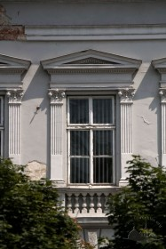 Prosp. Shevchenka, 13. A 2nd floor window