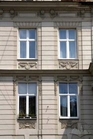 Prosp. Shevchenka, 25. A part of the principal facade