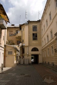 Prosp. Shevchenka, 10. A view from the courtyard