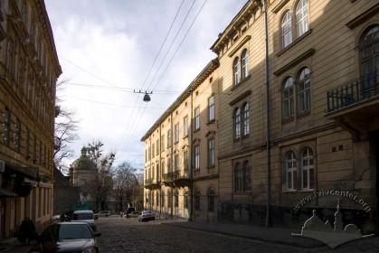 Vul. Vynnychenka, 24. A view from Lysenka str.