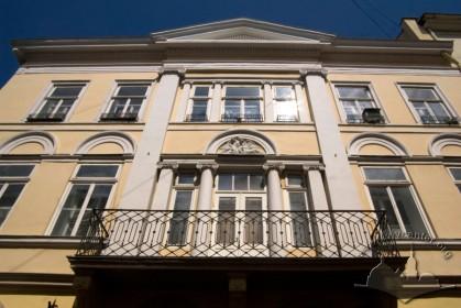 Вул. Краківська, 4. Фрагмент головного фасаду