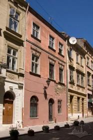 Вул. Ставропігійська, 5. Головний фасад, вигляд з заходу
