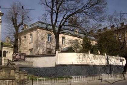 Вул. Личаківська, 49. Вигляд будинку з півдня