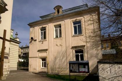 Вул. Личаківська, 49. Західний фасад будинку