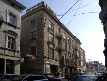 Вул. Коперника, 9. Загальний вигляд будинку з вулиці