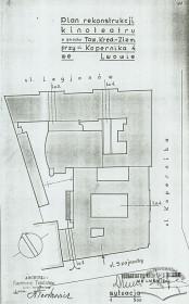 Вул. Коперника, 9. План реконструкції кінотеатру (1930-ті рр.)