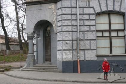 Вул. Городоцька, 36. Фрагмент наріжної частини будинку