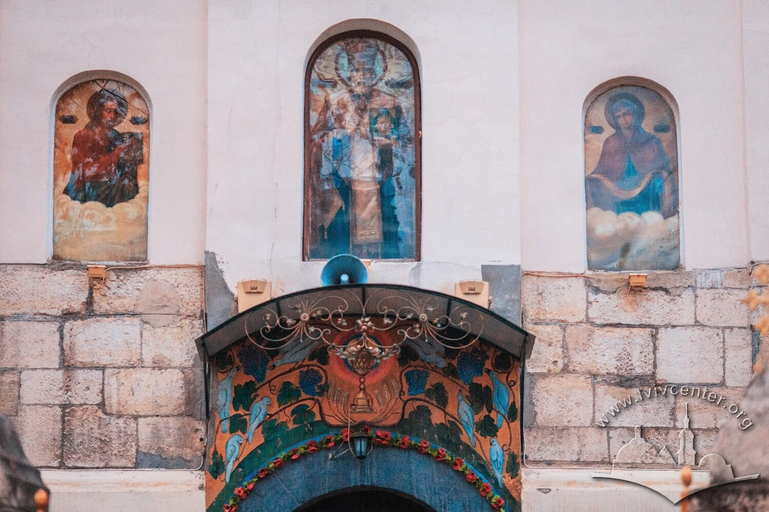 Vul. Khmelnytskoho, 28. Detail of the principal facade/Photo courtesy of Nazarii Parkhomyk, 2015