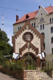 Pl. Staryi Rynok, 1. The western facade