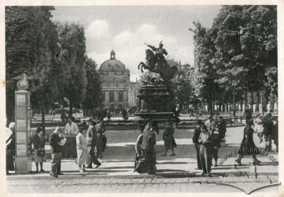 Зупинка з рекламною конструкцією, 1930-і рр.