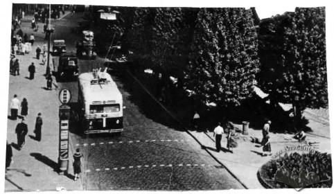 пр. Шевченка, не раніше 1953 р.