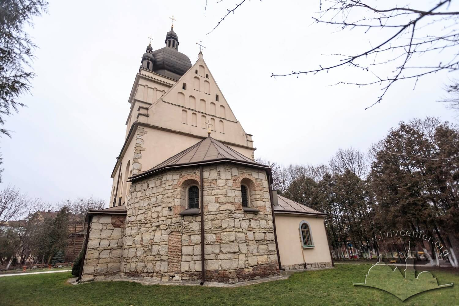 Vul. Khmelnytskoho, 77. Apse/Photo courtesy of Nazarii Parkhomyk, 2015