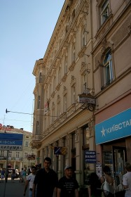 Просп. Шевченка, 28. Фасад будинку з боку проспекту Шевченка