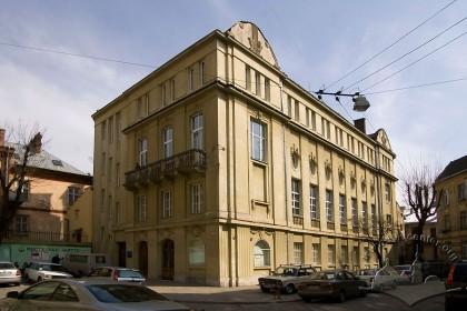 Пл. Шашкевича, 5. Загальний вигляд будинку
