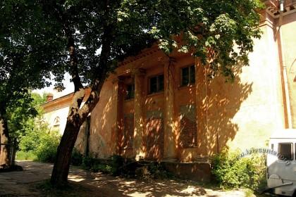 Вул. Личаківська, 131. Фрагмент бічного фасаду