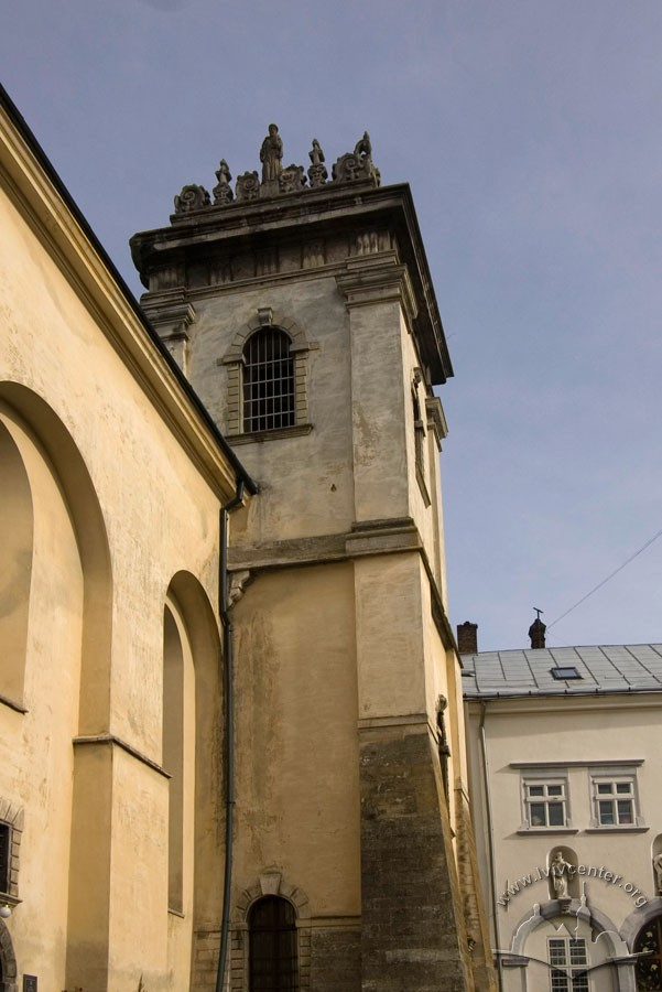 Vul. Vicheva, 2. The bell tower/Photo courtesy of Ihor Zhuk, 2013