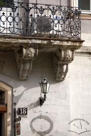 Пл. Ринок, 18. Фрагмент балкону