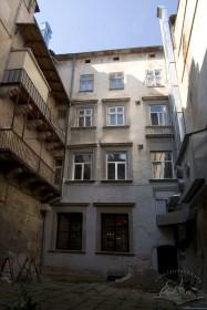 Вул. Галицька, 1. Вигляд будинку з внутрішнього двору