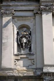 Vul. Vynnychenka, 30a. A niche on the principal facade