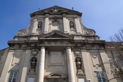 Vul. Vynnychenka, 30a. A part of the church' sprincipal facade