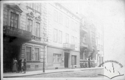 Фасади нині неіснуючих будинків, 1930-і рр.