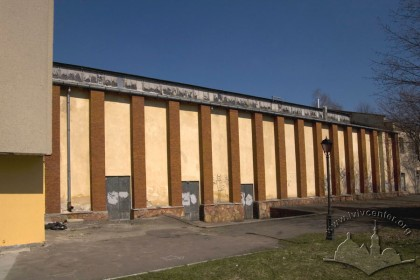 Вул. У. Самчука, 12. Фрагмент південного фасаду