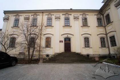 Вул. Тершаковців, 9. Західний фасад корпусу колишнього монастиря