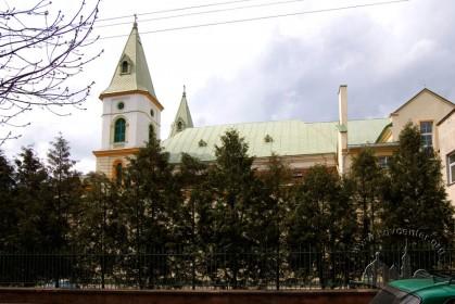 Вул. Зелена, 11б. Вид на східний фасад з вул. Палія