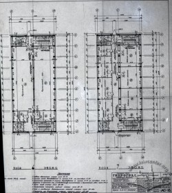 Drafts of the building's 6th and 7th floor