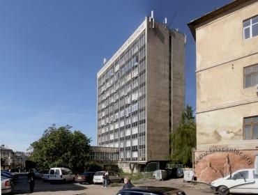 Prosp. Chornovola, 4. View of the building from Medova str.