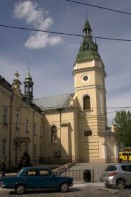 Вул. Городоцька, 32. Частина будинку церкви, вигляд з півдня