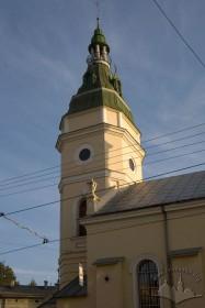 Вул. Городоцька, 32. Вежа над притвором, вигляд з півночі