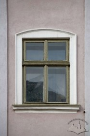 Pl. Rynok, 30. A 3rd floor window