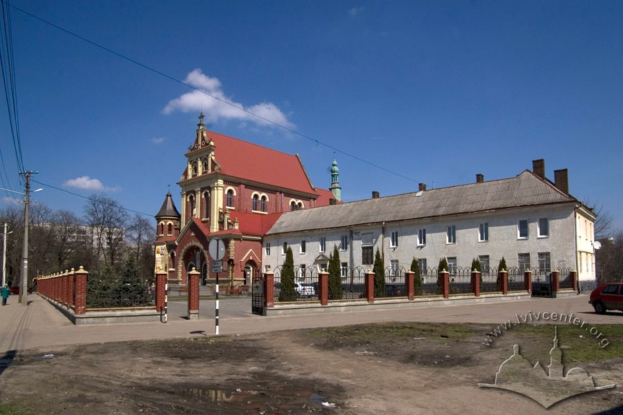 Vul. Zamarstynivska, 134. A view from the southwest/Photo courtesy of Ihor Zhuk, 2013