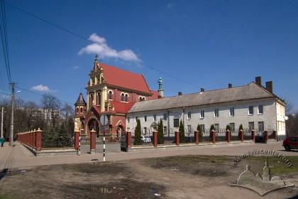 Vul. Zamarstynivska, 134. A view from the southwest