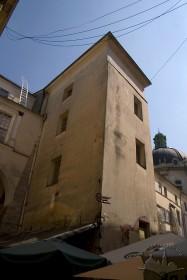 Pl. Muzeina, 1. Part of the monastery's building