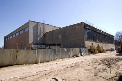 Вул. Керченська, 8. Тильні фасади будівель комплексу