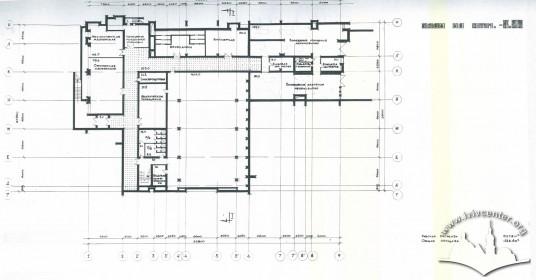 Sub-basement plan
