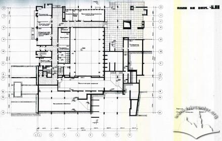 Floor-plan, first under-ground level