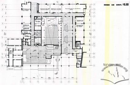 Floor-plan, first floor