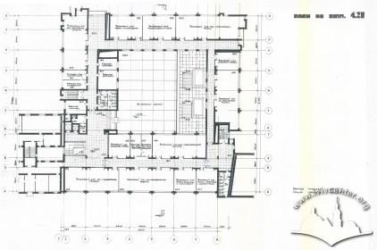 Floor-plan, second floor